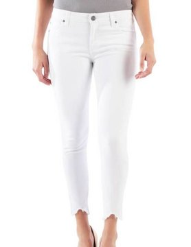 Kut Kut Connie Ankle Skinny Optic White