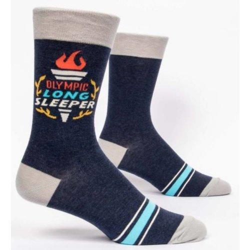 BLUE Q Blue Q Olympic Long Slpr Sock SW859
