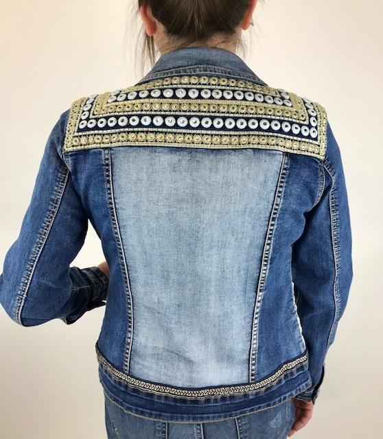 Desigual Desigual Parlermo Jeans Coat 19SWED50
