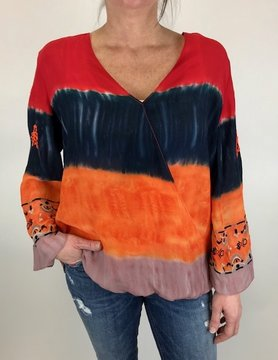 Desigual Desigual Sade Blouse Blood Orange