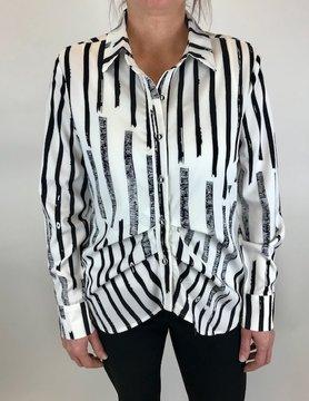 Patrizia Patrizia White W/Blk Shirt