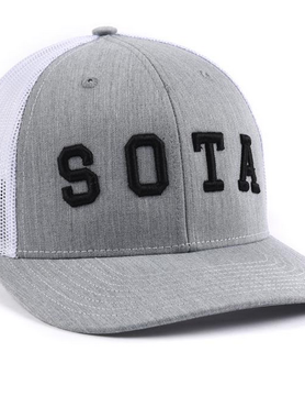 Sota Clothing Sota Summit Snapback Gry/Wht/Blk