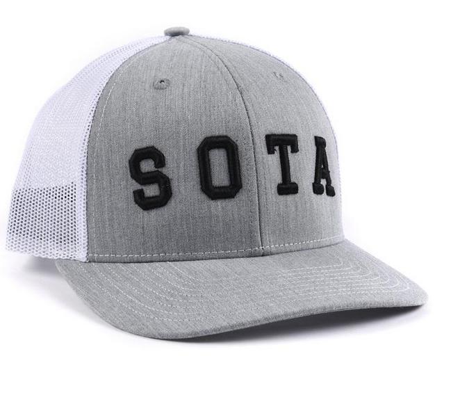 Sota Clothing Sota Summit Snapback Gry/Wht/Blk