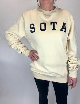 Sota Clothing Sota Highland Crewneck Bone/Nvy
