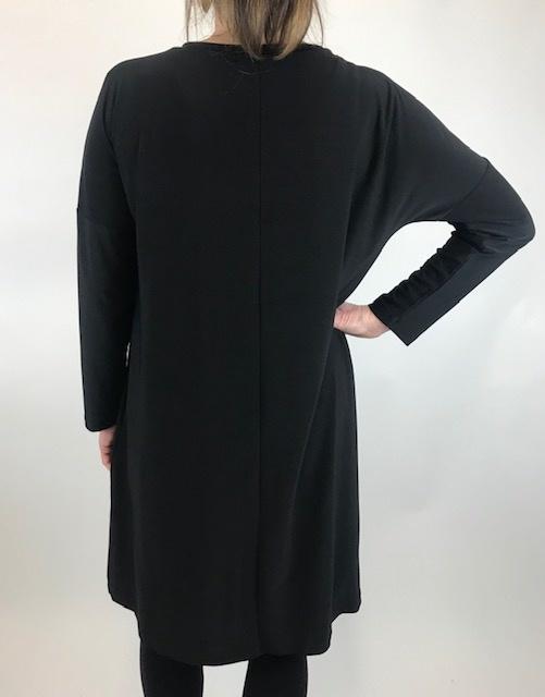 COMFY Comfy Blk/Ash Dress SK505