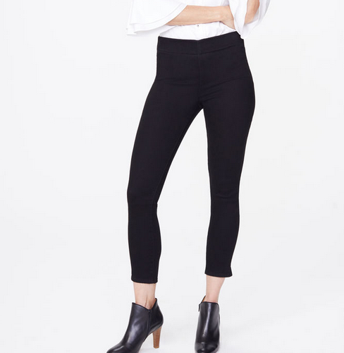 Not Your Daughter Jeans NYDJ P/O Skinny Ankle Blk MBDMPA2405