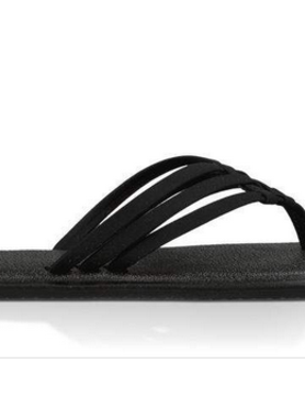 Sanuk Sanuk W's Yoga Salty Black