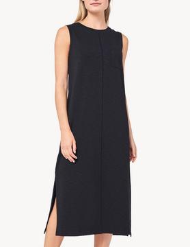 Lilla P Lilla P Long Tank Dress Black