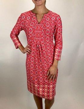 Esqualo Esqualo S/S Dress Red