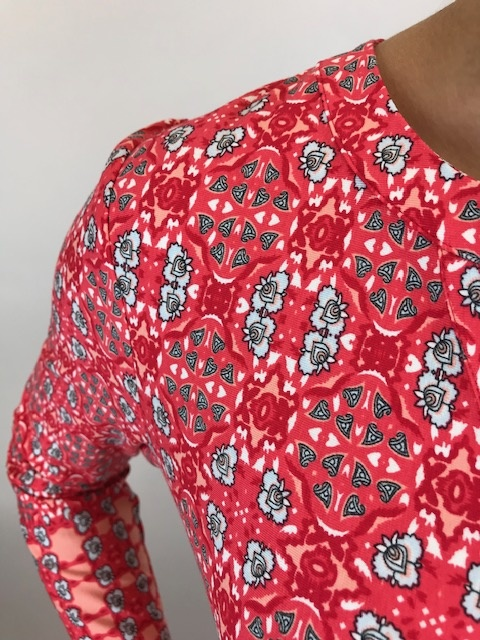 Esqualo Esqualo S/S Dress Red 30200