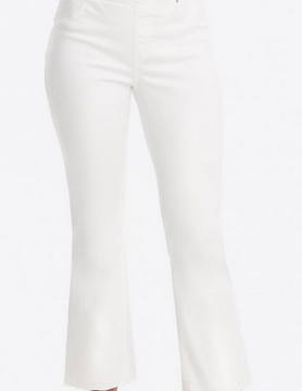 Spanx Spanx Cropped Flare Denim White