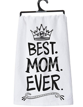 PRIMITIVES BY KATHY Primitives Dish Towel Best Mom Ever
