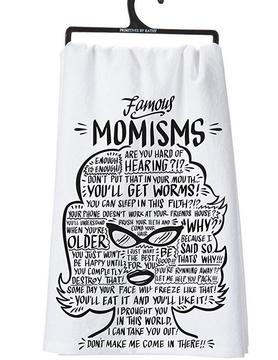 PRIMITIVES BY KATHY Primitives Momisms Dish Towel