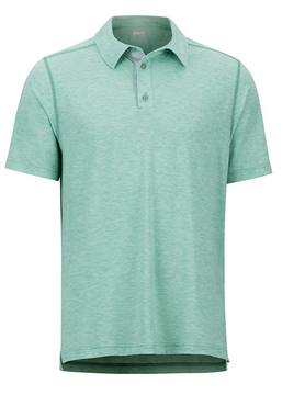 MARMOT Marmot Wallace Polo S/S Pond Green Hthr
