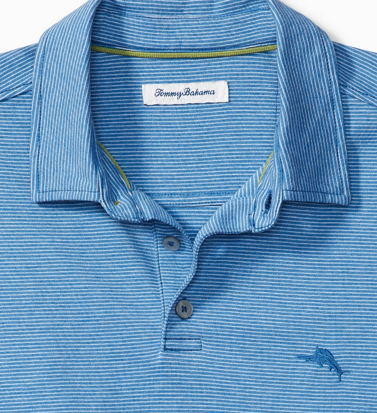 Tommy Bahama Tommy Bahama Pacific Shore Polo Bl Alre Hthr T219120