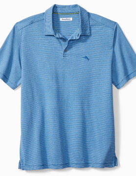 Tommy Bahama Tommy Bahama Pacific Shore Polo Blue Allure Hthr