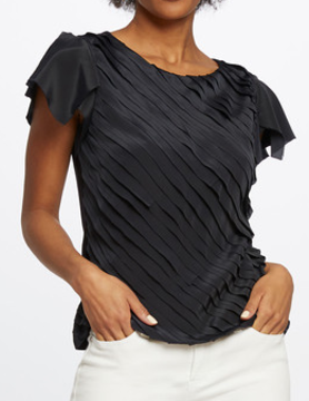 nic & zoe Nic & Zoe Fiesta Top Midnight