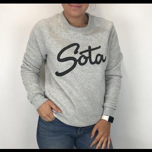 Sota Clothing Sota Steelton Crewneck Oatmeal/Blk