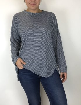 COMFY Comfy Short Tunic Top Navy