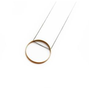 Larissa Loden Larissa Loden Horizon Circle Necklace Small