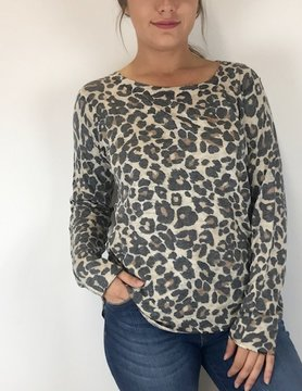Nally & Millie Nally & Millie Leopard L/S N282225-F