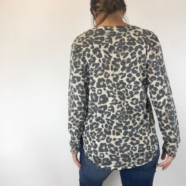 Nally & Millie Nally & Millie Leopard L/S N282225-F