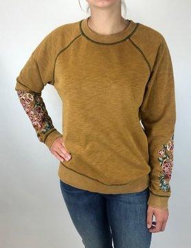 Mystree Mystree Mustard Sweatshirt