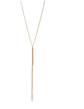 LUCKY BRAND ACCESSORIES Lucky Brand Acc Mod Bar Y Necklace Gold JWEL3886