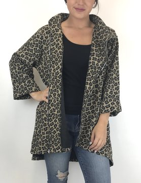 COMFY Comfy Print Ponte Zip Animal PT139P