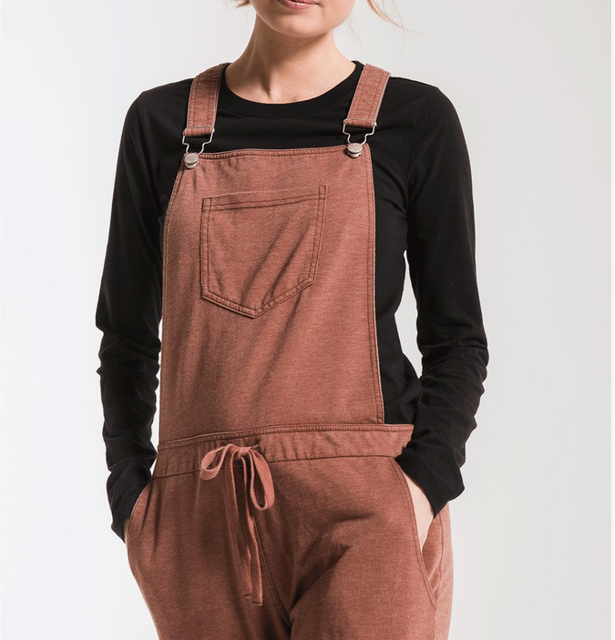 Z Supply Z Supply The Overalls Fr Brwn ZP184561