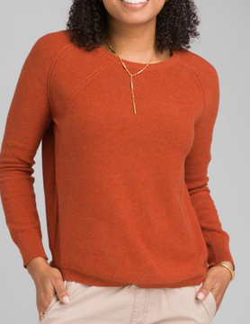PRANA Prana Avita Swtr Dry Chili Heather