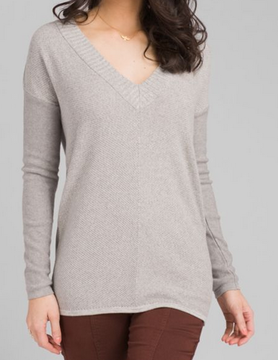 PRANA Prana Cedros Swtr Tunic Grey Heather