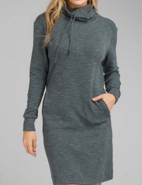 PRANA Prana Sunrise Dress Grey Blue