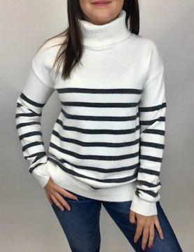 Mystree Mystree Turtle Neck Sweater