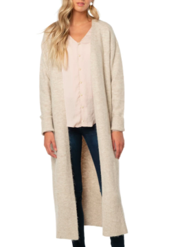 trim & tailor Trim and Tailor Willa Duster Swtr Birch