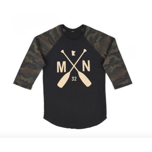 Sota Clothing Sota Crookston Camo Raglan
