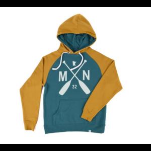 Sota Clothing Sota Elmwood Hoodie Teal/Mustard
