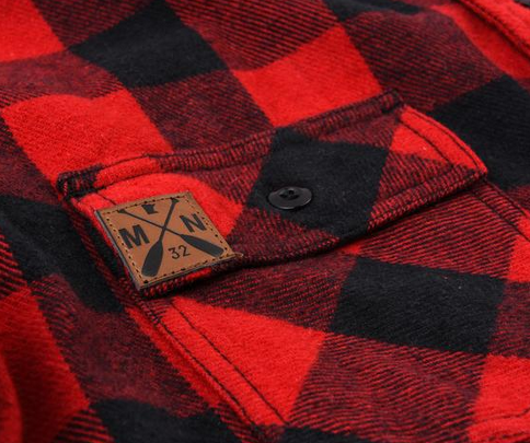 Sota Clothing Sota Men's Flannel Button Up Red Buffalo
