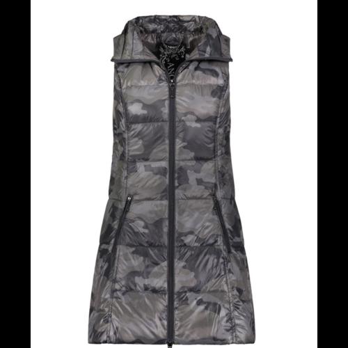 Anorak Black Camo Puffer Vest