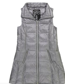 anorak Anorak Gunmetal Puffer Vest
