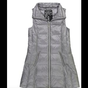 Anorak Gunmetal Puffer Vest
