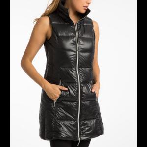 Anorak Black Puffer Vest