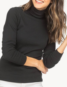 Lilla P Lilla P L/S Turtlenck Black