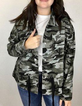 mittoshop Mittoshop Black Camo Jacket