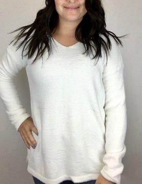 Staccato Staccato V Neck P/O Sweater Off White