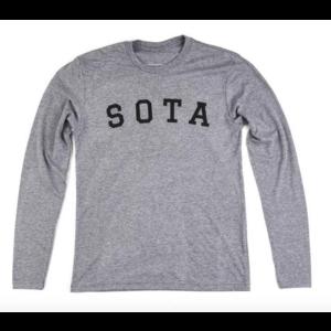 Sota Clothing Sota Logan Unisex L/S H Grey