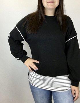Patrizia Patrizia Blk/White Sweater