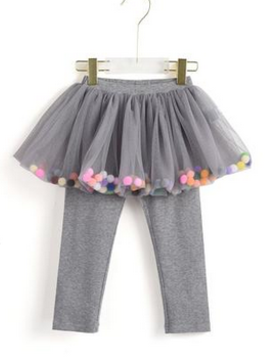 aimama Aimama Pompoms Pants Grey