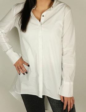 XCVI XCVI Farrah Button Front White