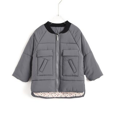 aimama Aimama Quilted Coat Dk Grey